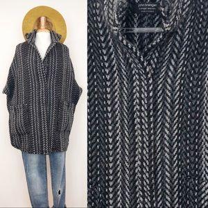 Wool & Alpaca Cape | Sweater Coat | Irish Made
